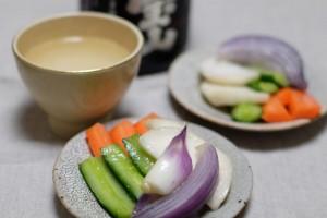 野菜の甘酒漬け